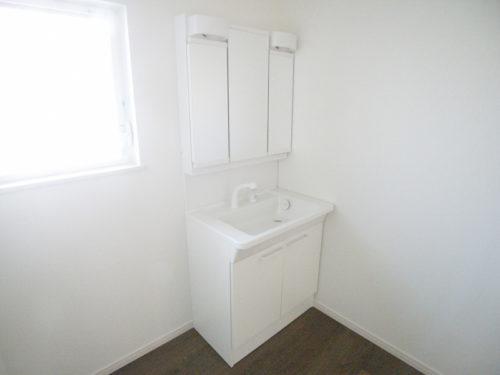 2号棟洗面所