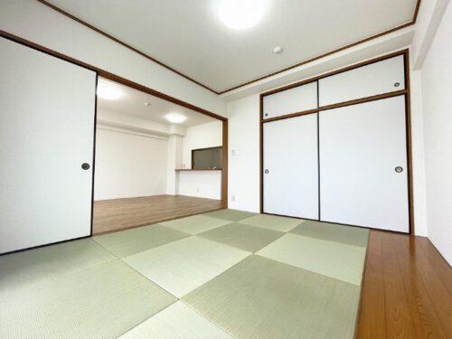 和室は琉球畳となっております(内装)