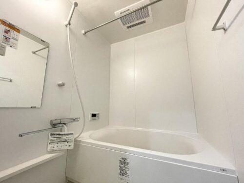 清潔感のある浴室(風呂)