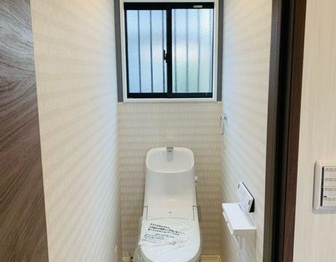 1号地トイレ(内装)