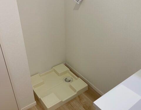1号棟洗濯機置場