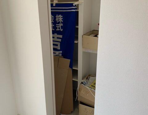 1号棟シューズインクローク(玄関)